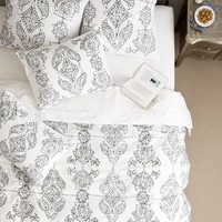 Carapelle Duvet by Anthropologie Pink
