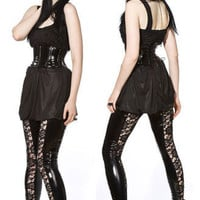 Artifice Products - Lace insert PVC Leggings