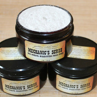 Mechanic's Scrub - grease cutting scrub - men's hand scrub