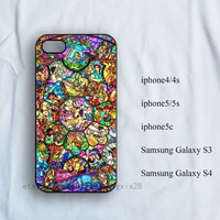 iPhone Case,iPhone 4/4s Case, iPhone 5/5s case, iPhone 5c case,samsung galaxy s3/s4,Disney collage,disney iPhone Case