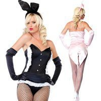 Intimate Lingerie Black Lace Lycra With Gloves And Trimmed Ears Bunny Costume [TML0825] - $35.00 : Cosplay, Cosplay Costumes, Lolita Dress, Sweet Lolita