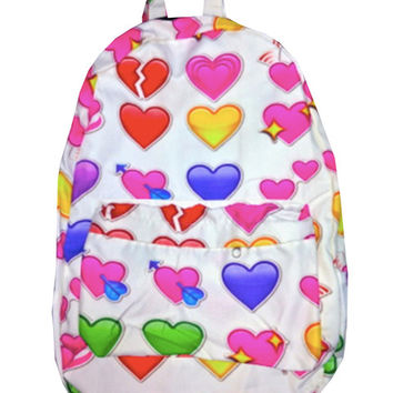 HEART EMOJI BACKPACK - PREORDER