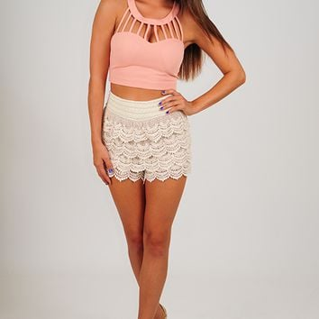About A Girl Top: Blush