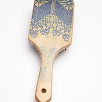 Free People by Gypsy Pea Magoo Womens Hand Painted Wooden Brush -