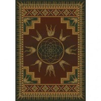 United Weavers of America Genesis Dream Catcher Lodge Southwestern Rug - 130 52143 - Area Rugs