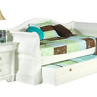 Oberon White 3 Pc Daybed