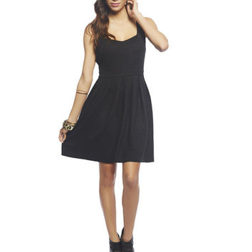 Open Back Skater Dress | Wet Seal