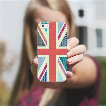 United Kingdom Beauty flag iPhone 5s case by Sharon Turner | Casetify