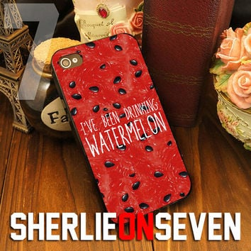 Watermelon Quote for iPhone 4/4s/5/5s/5c - iPod 2/4/5 - Samsung Galaxy s3/s4/s5 - Black/White