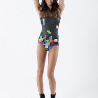 Retro Gamer Swimsuit - LIMITED | Black Milk Clothing
