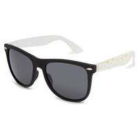 Full Tilt Daisy Sunglasses Black Combo One Size For Women 23407714901
