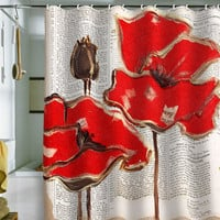 DENY Designs Home Accessories | Irena Orlov Red Perfection Shower Curtain