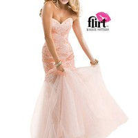Flirt by Maggie Sottero P4846 Lace Illusion Dress Website Special