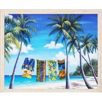 Windsor Vanguard Tropical Splendor by Unknown - VC711024x30 - All Wall Art - Wall Art & Coverings - Decor