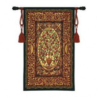 Fine Art Tapestries Abundance Tapestry - Helen Vladykina - 3327-WH - All Wall Art - Wall Art & Coverings - Decor