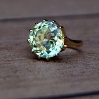 Fall Chrysanthemum 14k gold ring setting ONLY by EidelPrecious