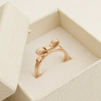 Women's Alloy Bow Tie Upper Design Ring R0522