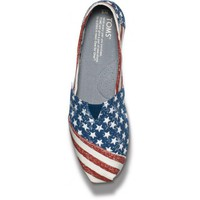 New Styles - Stars and Stripes Women's Vegan Classics | TOMS.com