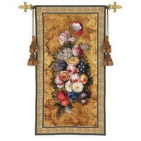 Fine Art Tapestries Floral Reflections I Tapestry - Riccardo Bianchi - 2925-WH - All Wall Art - Wall Art & Coverings - Decor