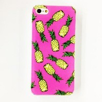 Case/Cover - Pineapple Pattern Plastic Hard Case for iPhone 4/4S ( Color : Multicolor )