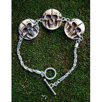 Novica Aged Immortal Smile Bone Pendant Bracelet | Jewelry| Accessories | World Market