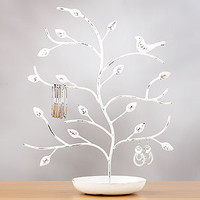 Bird &amp; Tree Jewelry Stand, White | Jewelry| Accessories | World Market