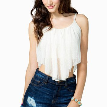 Sweet Dot Lace Cami