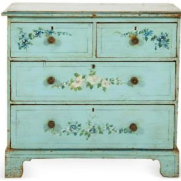 One Kings Lane - Ralf's Antiques - Small Antique Chest of Drawers