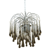 G4 Decor, LLC - Camberini - Shower Of Prisms Chandelier - 1stdibs