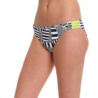 Adidas Women's Cut Stripe Hipster Bottom at SwimOutlet.com