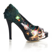 Women's Black Vanity Fair Platforms By Iron Fist