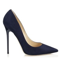 Black Suede Pointy toe Pumps | Anouk | Spring Summer 14 | Jimmy Choo Pumps