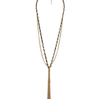 Multi-Chain Tassel Necklace | FOREVER21 - 1000041991