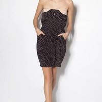 Robe Regain Regain Noir - Sandro - Sandro - Boutique en ligne - Collection printemps-t 2011