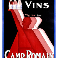 Camp Romain Giclee Print by L. Gadoud at Art.com