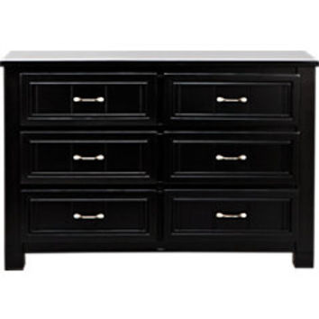 Cottage Colors Black Dresser