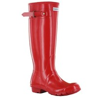 Hunter Original Gloss Red Womens Wellington Boots