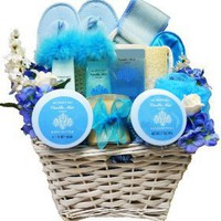 Art of Appreciation Gift Baskets All About Me Vanilla Spa Bath and Body Gift Set