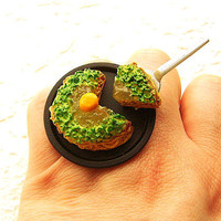 Kawaii Cute Japanese Ring Savory Pancake by SouZouCreations