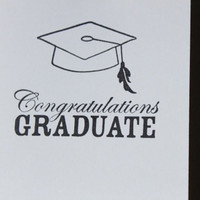 Graduation Card Congratulations Graduate by RoyalRegards on Etsy