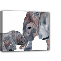 Nursery Art Baby Room Elephant Kids Wall Art by CallOfTheAnimals2