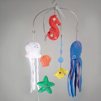Ocean Mobile by lookmeem on Etsy