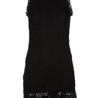 Dolce & Gabbana Sleeveless Lace Dress - Tessabit - farfetch.com