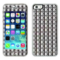 Flapsta iPhone5/5s Gel Case +Front Gel Skin/ Studs