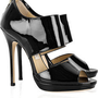 Jimmy Choo|Private patent-leather sandals|NET-A-PORTER.COM