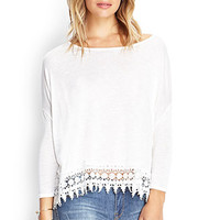 Crocheted Dolman Top
