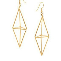 Gogo Philip | Gogo Philip Diamond Drop Earrings at ASOS