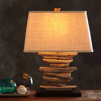 Driftwood Table Lamp Base