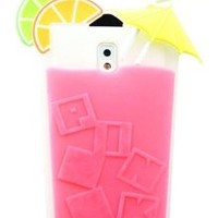 Yuersal Rose Red Victoria's Secret cocktail Beverage Cup Soft Silicone Case for Samsung Galaxy Note 3 N9000