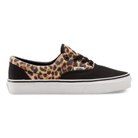 Vans Leopard Era (Black/True White)